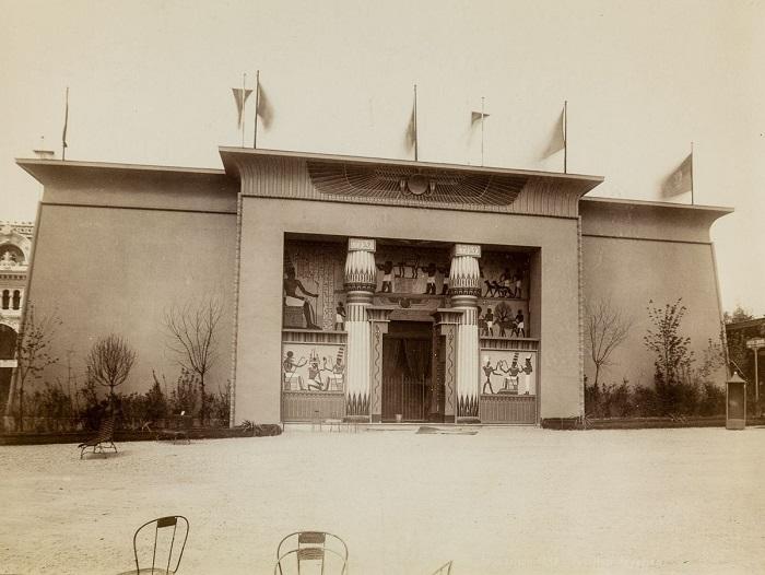 Экстерьер египетского павильона. | Фото: mashable.com.