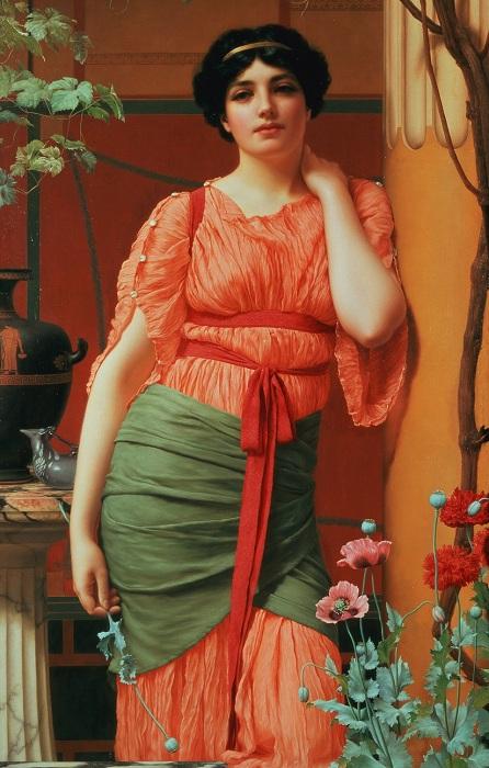 Нерисса. Дж. У. Годвард, 1906 год. | Фото: 4.bp.blogspot.com.