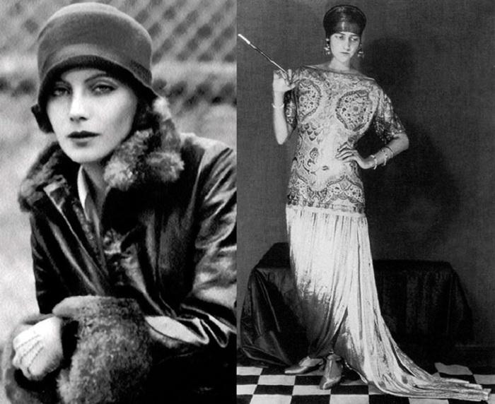 Европейская мода 1920-х годов.   Фото: mylitta.ru.