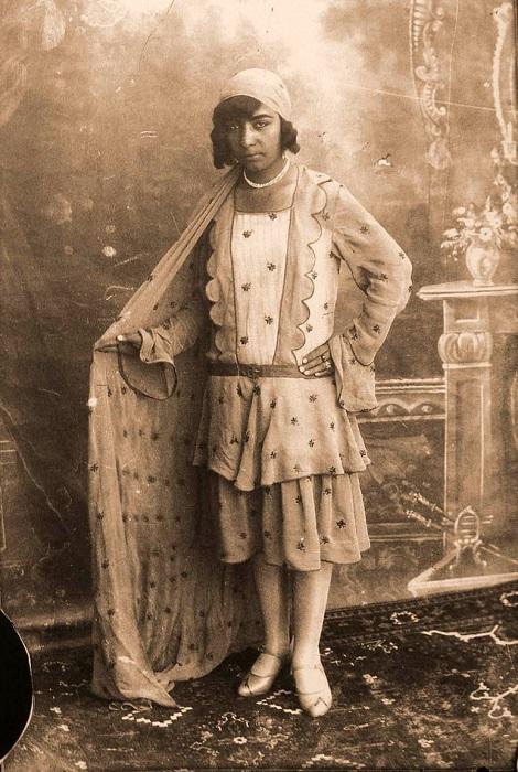 Образ иранской женщины в 1920-х годах. | Фото: b-picture.livejournal.com.
