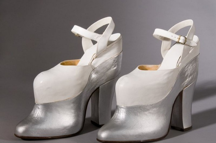 Туфли на платформе актрисы Мэй Уэст.
