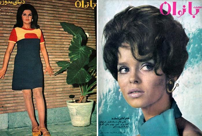Иранские красавицы конца 1960-х годов. | Фото: cn15.nevsedoma.com.ua.