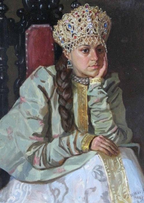 Мария Темрюкова - вторая жена Ивана Грозного.