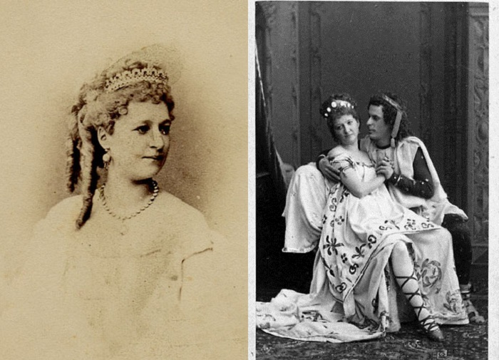 Вера Лядова - артистка театра середины 19 века.