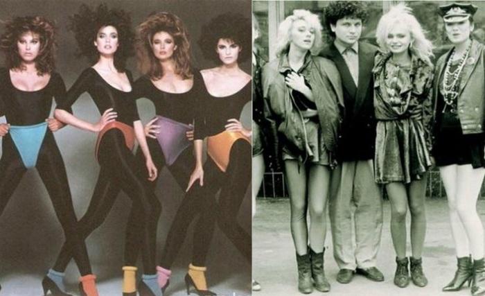 Мода 1980-90-х гг.
