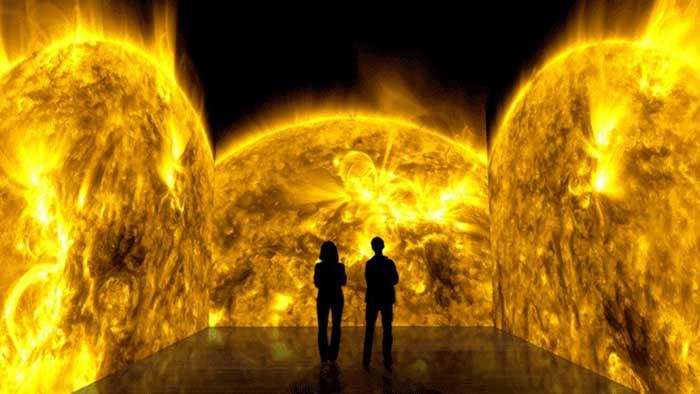 Nasa's Solarium - передвижная выставка.