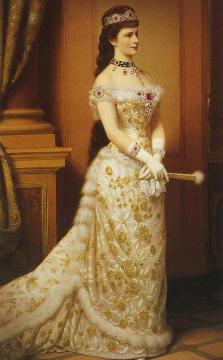 Елизавета-королева Австрии.