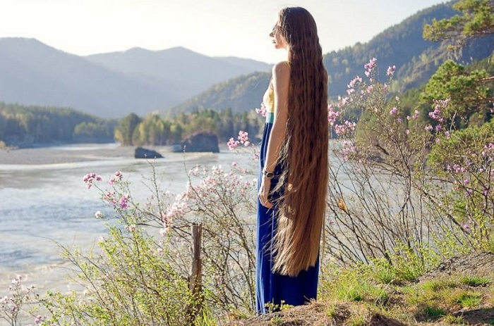 Дарья Губанова - настоящая русская красавица.   Фото: tvoilokony.ru.