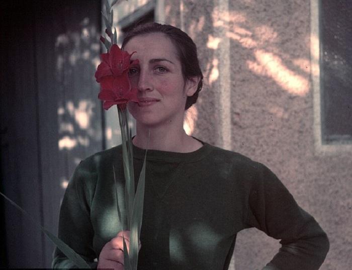 Francoise Gilot - возлюбленная Pablo Picasso.