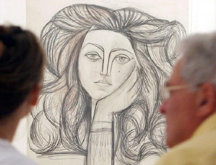 Франсуаза. Пикассо, 1946 год.