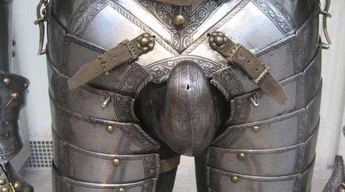 Латы средневекового рыцаря.