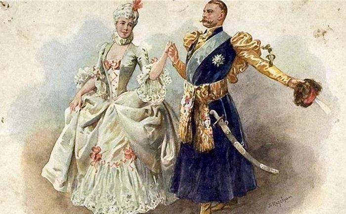 Полонез - танец кичливости и гордости.