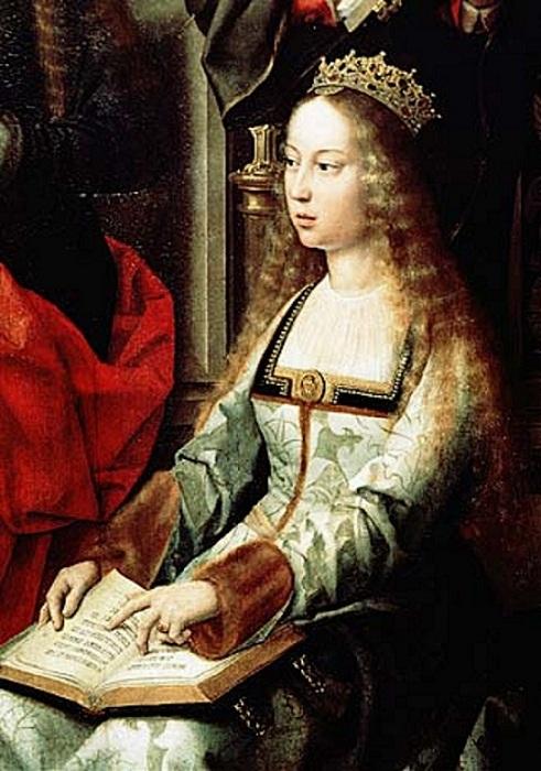 Изабелла Кастильская. 1490 год.