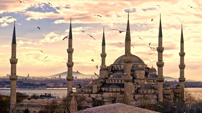Современный Стамбул. | Фото: 2fons.ru.