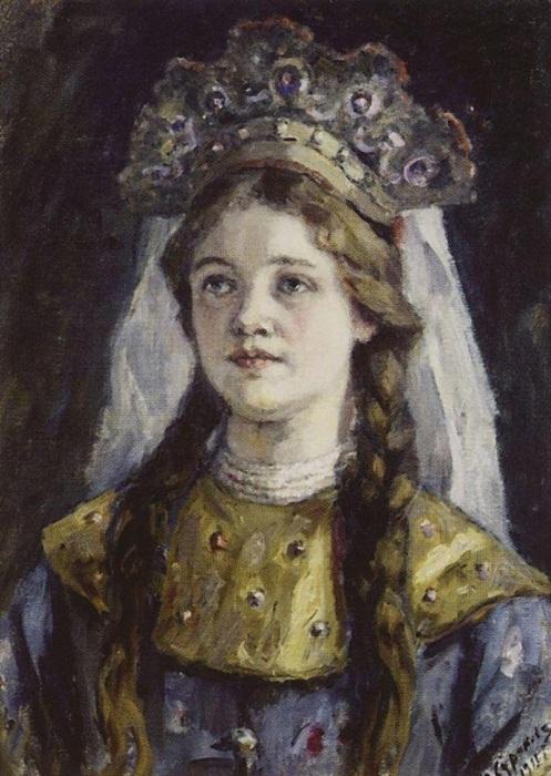 Анна Васильчикова - 5-я жена Ивана Грозного.