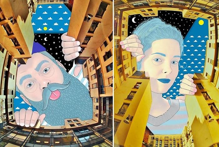 Причудливые иллюстрации Thomas Lamadieu.