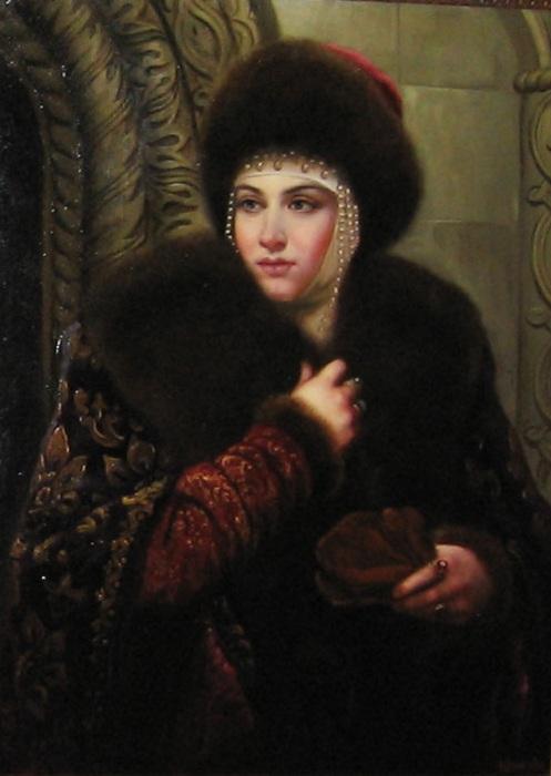 Марфа Собакина - 3-я супруга Ивана IV.