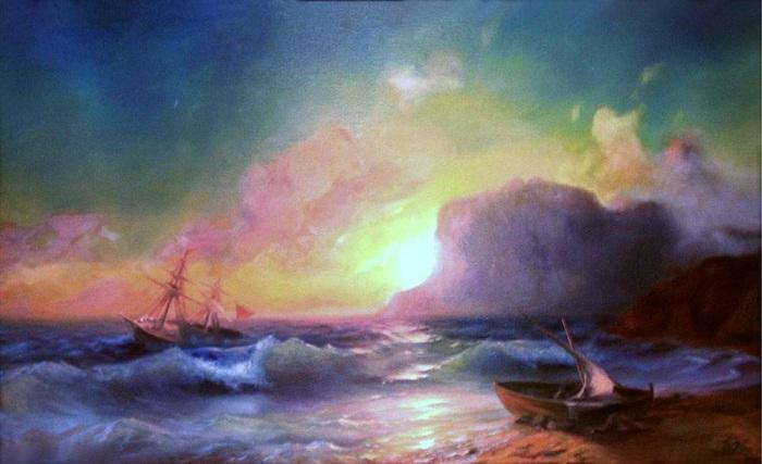 Море. Коктебель, 1853 год.