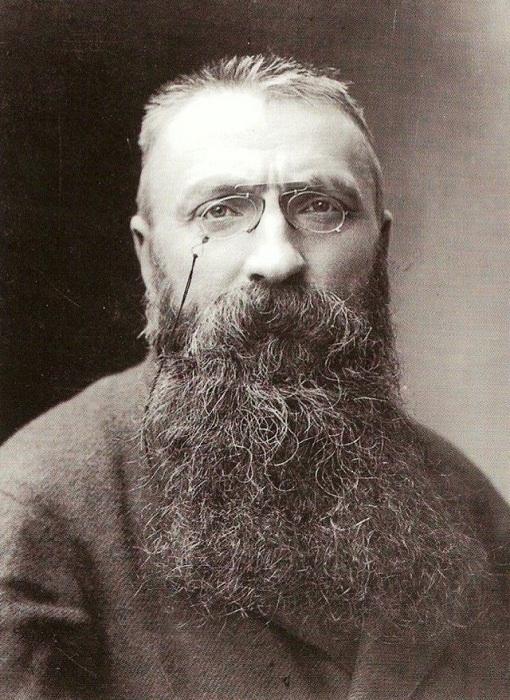 Огюст Роден - великий французский скульптор.