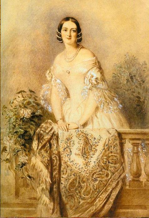Портрет Елены Михайловны Завадовской.