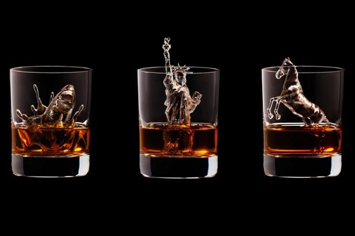 Уникальные 3D-скульптуры для охлаждения напитков.