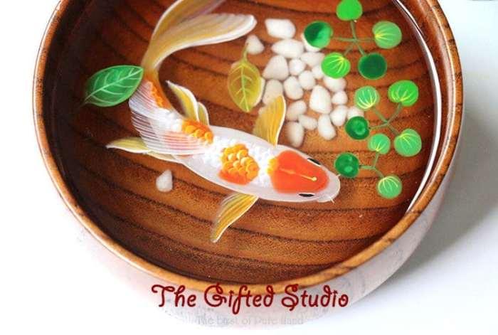 Гиперреалистические работы китайской художницы Лиллиан Ли. | Фото: mymodernmet.com.