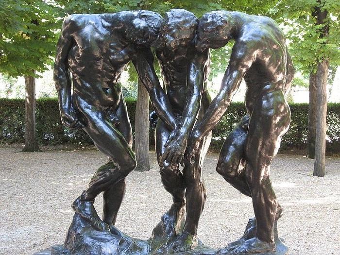 «Три тени» Огюста Родена.