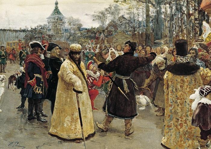 Всешутейший собор - пародия на католическую и православную церкви.