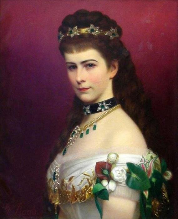 Сисси - одна из самых красивых императриц.