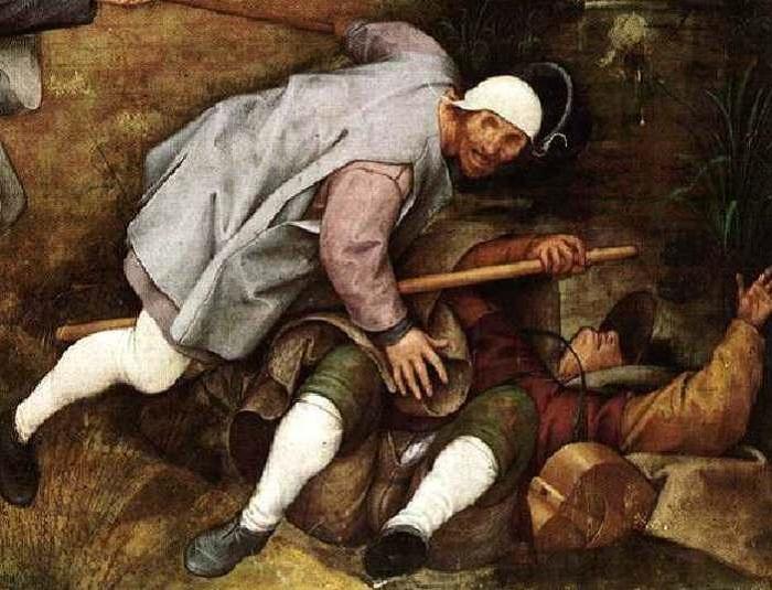 Притча о слепых Питера Брейгеля Старшего: Аллегория, которая заставляет задуматься