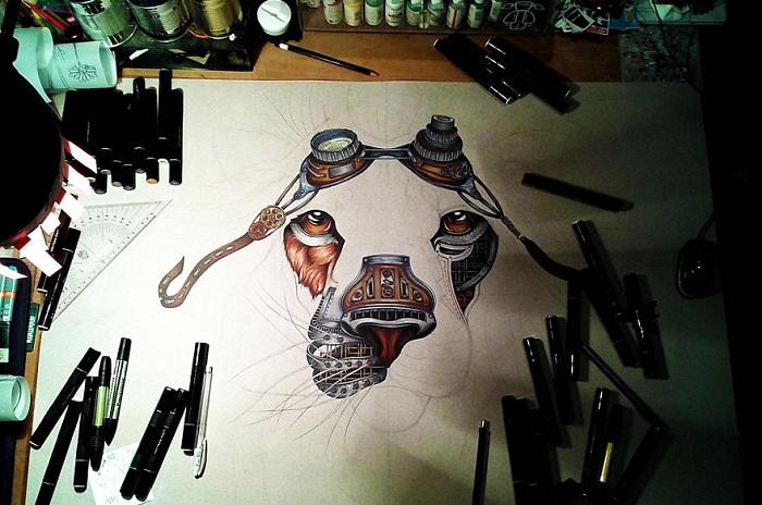 Творчество художницы Paula Duta.