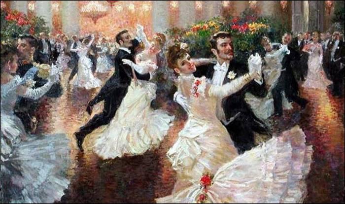 Венский вальс - танец, ставший популярным в 19 веке.