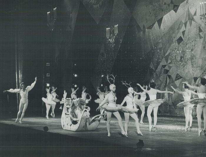 Балет «Щелкунчик». Начало 1900-х.