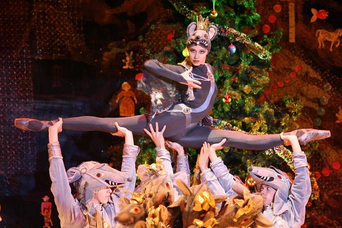 Танцоры Московского классического балета (Moscow Classic Ballet). Выступление в Мадриде, 2006 год.