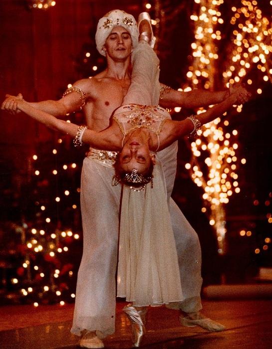 Игорь Вассин и Инесса Пакри в Brown Palace, 1992 год.
