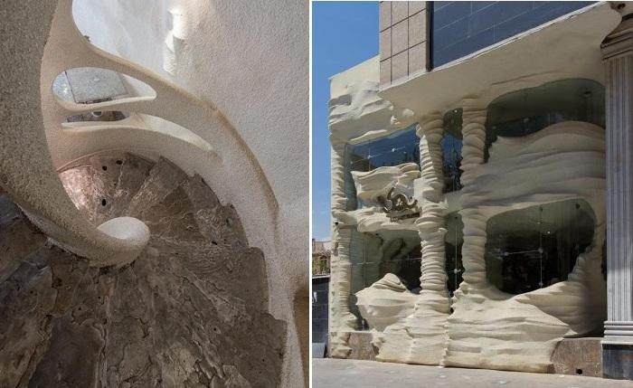 Ресторан, сделанный из соли.