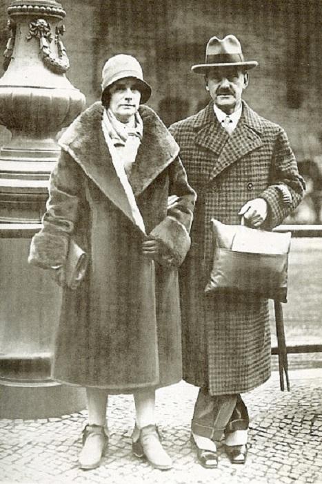 Томас и Катя Манн.