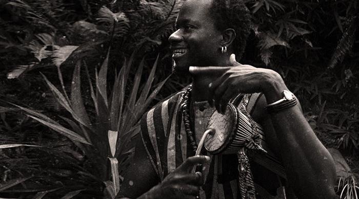 Африканские «говорящие» барабаны.