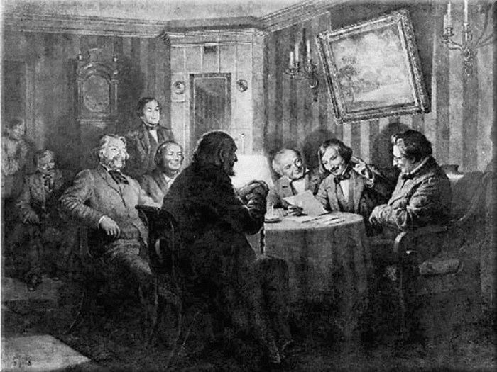 Николай Гоголь целил крепкую мужскую дружбу.