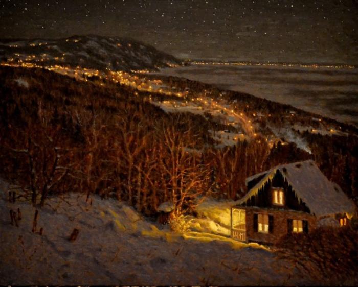 Картина канадского художника Richard Savoie.