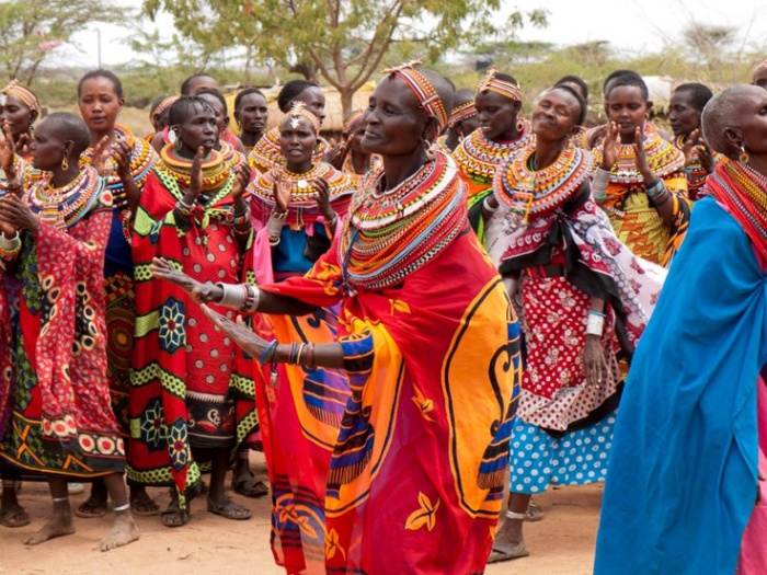 Umodja - деревня с традициями матриархата.