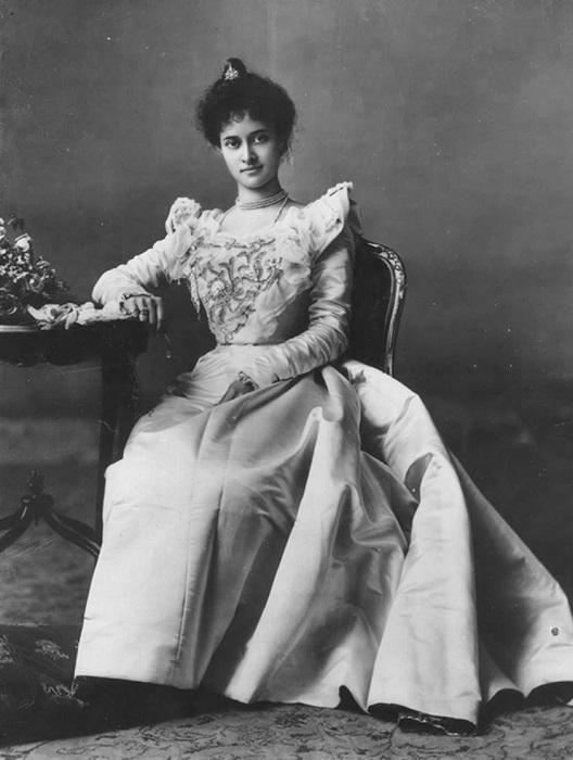 Принцесса Каюлани боролась за независимость своей страны, 1897 год. | Фото: fiveminutehistory.com.