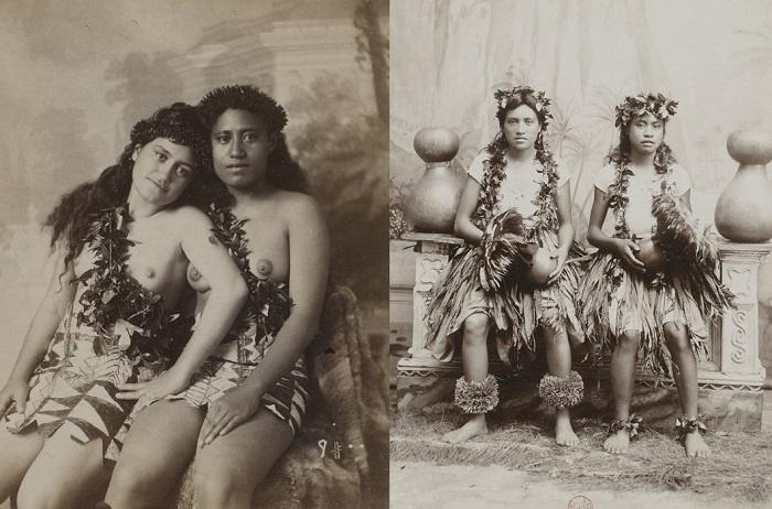 Канака маоли - коренные жительницы Гавайев.