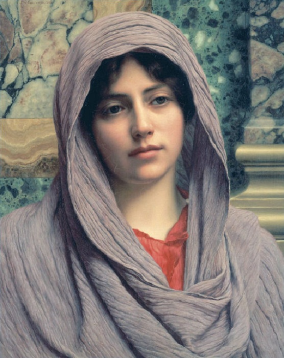 Lycinna. Дж. У. Годвард, 1918 год.| Фото: thevintagenews.com.