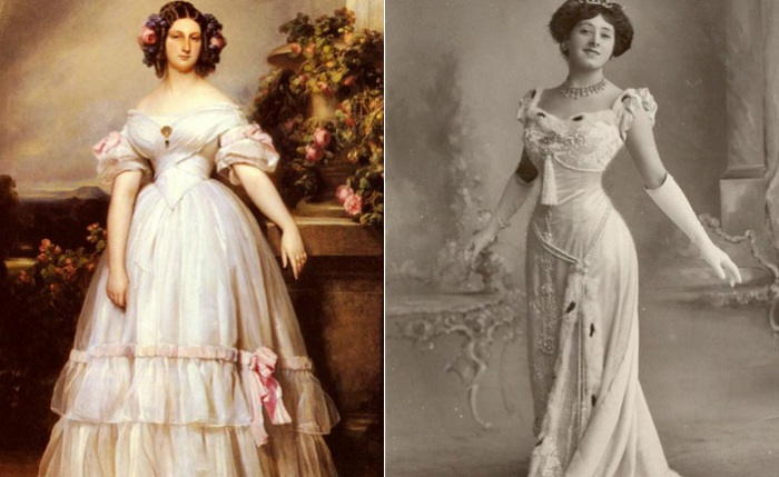 Модные тенденции 19 и 20 века.