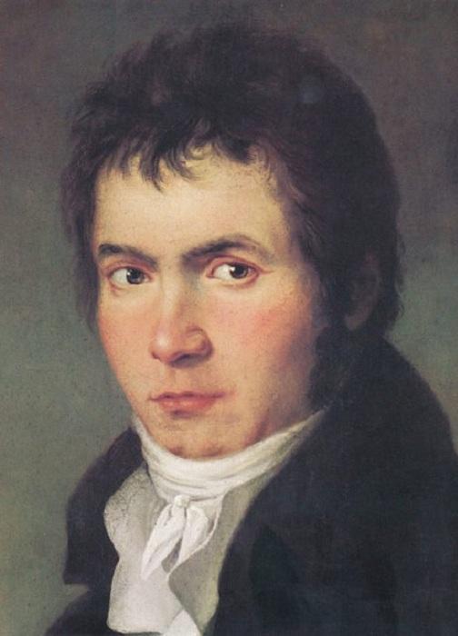Людвиг ван Бетховен. Йозеф Мелер, 1804-1805 гг. | Фото: thevintagenews.com.