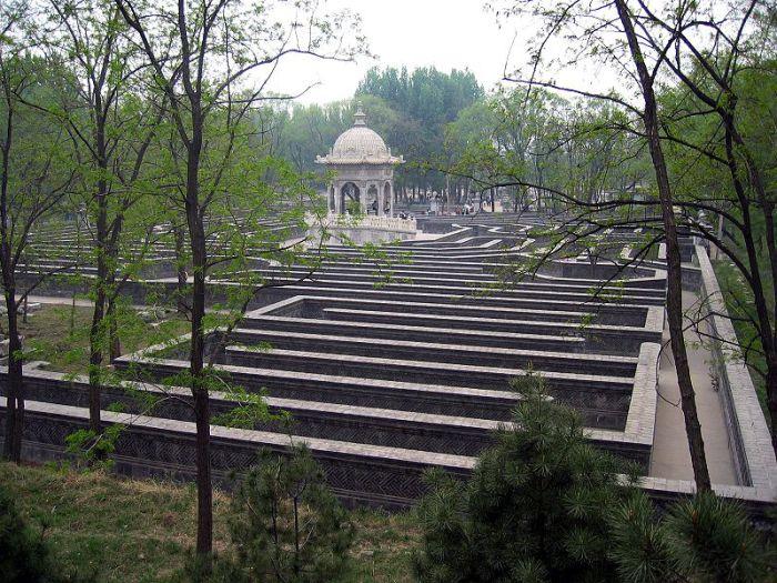 Лабиринт в Китае в Huanghuazhen. | Фото: artslon.ru.