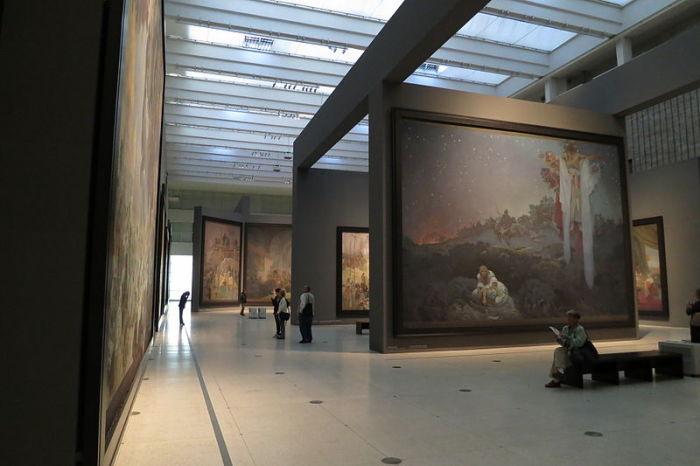 «Славянская эпопея». Национальная галерея в Праге.   Фото: commons.wikimedia.org.