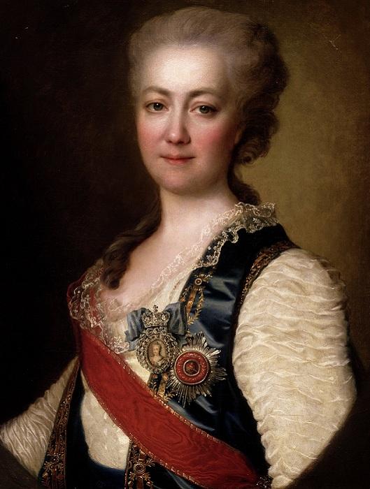 Портрет княгини Екатерины Дашковой, 1784 год.