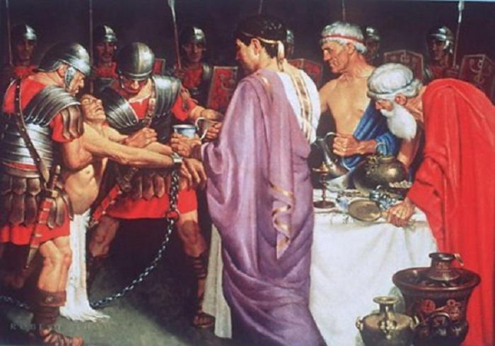 Римские императоры ежедневно пили яд. | Фото: fb.ru.